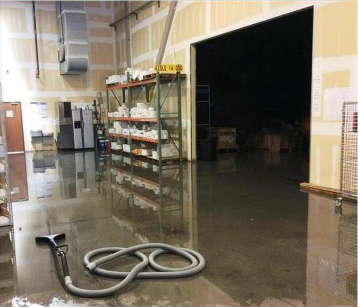 Large Commercial Building calls SERVPRO of Sooland for Emergency Water Restoration Before