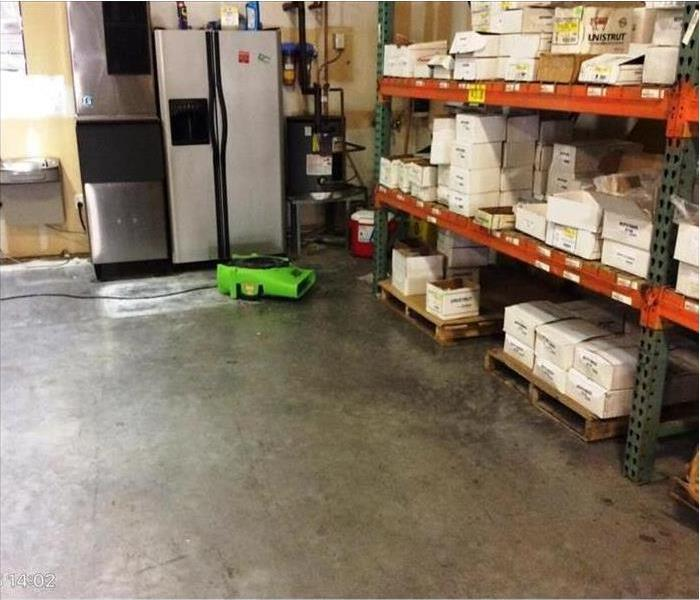 Large Commercial Building calls SERVPRO of Sooland for Emergency Water Restoration After