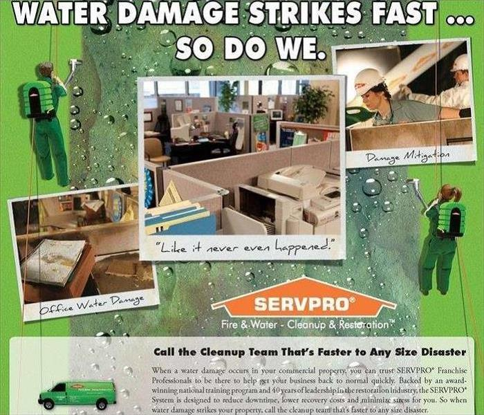 Water Damage Water Leading to Mold Growth Happens Fast