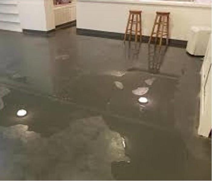 Water Damage Basement  Flooding?